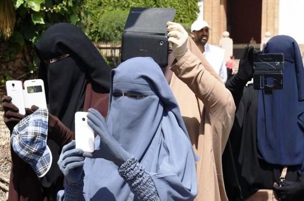منع النقاب في المغرب لدواع أمنية