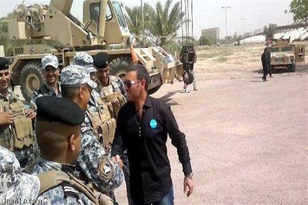 كاظم الساهر مع الجيش العراقي