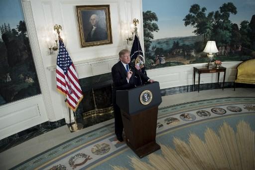 ترمب يوجه ضربة للاتفاق النووي الإيراني في تغير كبير لسياسة أميركا