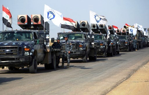 قصف مدفعي متبادل في جنوب مدينة كركوك بين القوات العراقية والكردية
