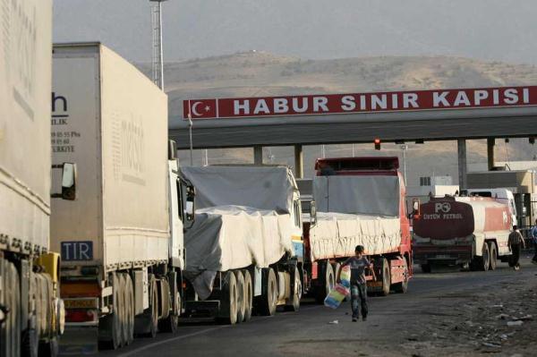 معبر الخابور العراقي التركي