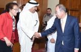 بان كي مون يشيد بدور الكويت تجاه مختلف القضايا الدولية