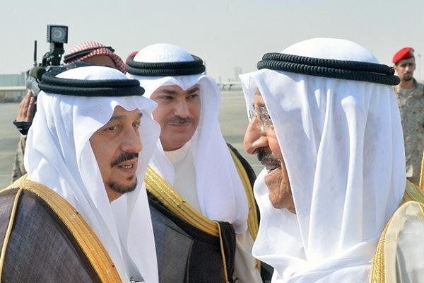 أمير الكويت يصل إلى العاصمة السعودية الرياض