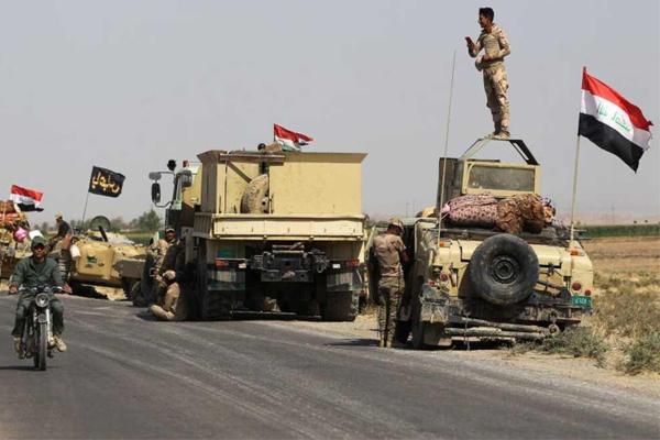 قوات عراقية في محيط مدينة كركوك