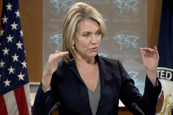 المتحدثة باسم وزارة الخارجية هيذر نويرت