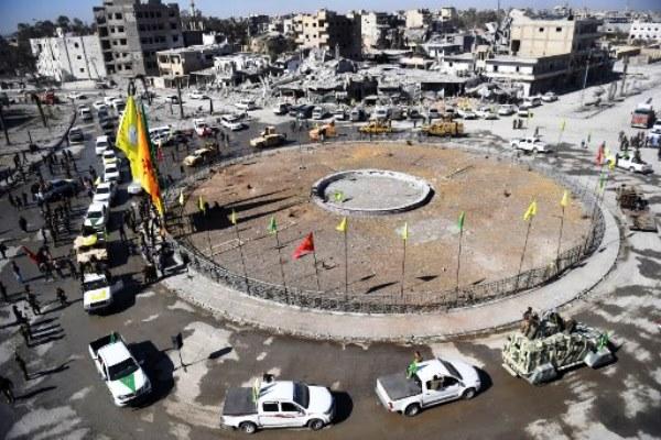 دوار النعيم في مدينة الرقة