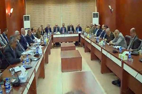 الاحزاب الكردية في اقليم كردستان العراق لدى اجتماعها