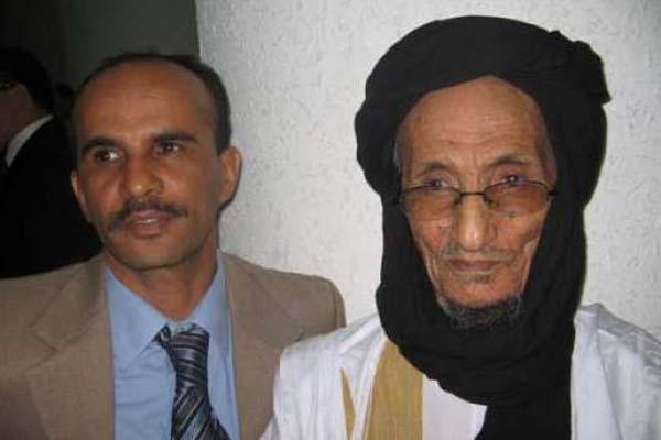 الشيخ الخليلي محمد البشير الركيبي والد الأمين العام السابق لجبهة البوليساريو