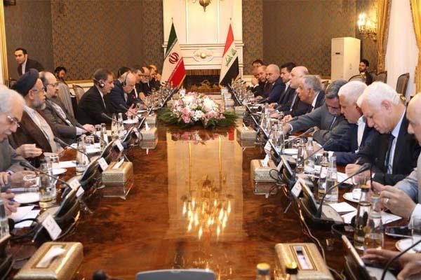 المباحثات العراقية الايرانية برئاسة العبادي وجهانغيري
