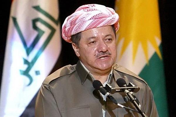 مسعود بارزاني رئيس اقليم كردستان