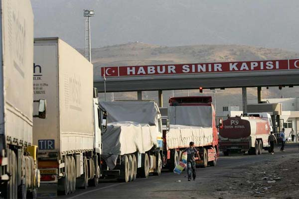 معبر فيشخابور العراقي مع تركيا