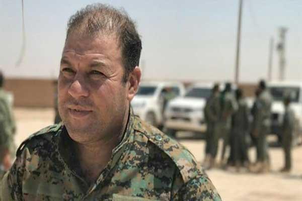 مصطفى بالي مدير المركز الإعلامي في قوات سورية الديموقراطية