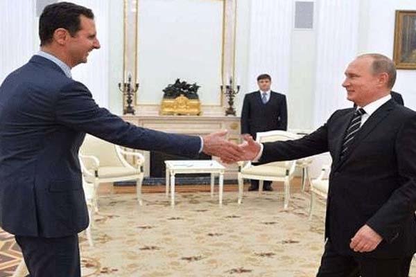 بوتين اقترح عقد مؤتمر شعوب سوريا
