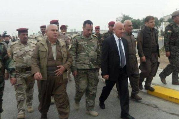 وفد قوات البيشمركة للاجتماع مع وفد قيادة القوات العراقية الاتحادية