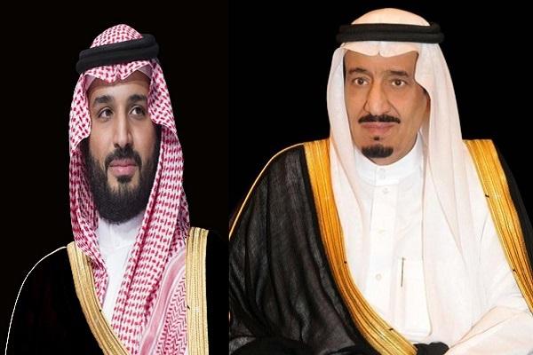 العاهل السعودي الملك سلمان بن عبد العزيز والأمير محمد بن سلمان ولي العهد