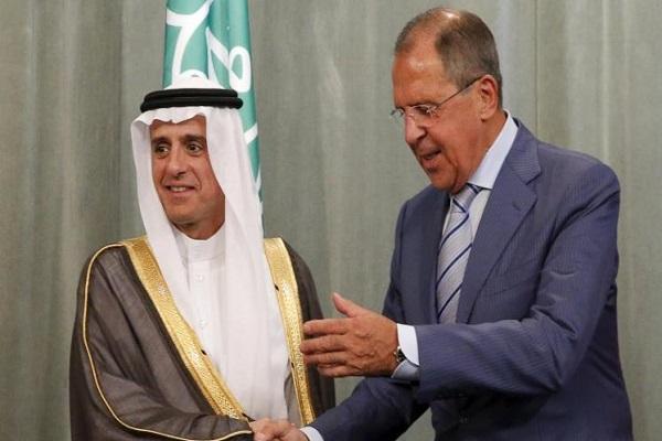 مشاورات بين وزيري الخارجية السعودي والروسي