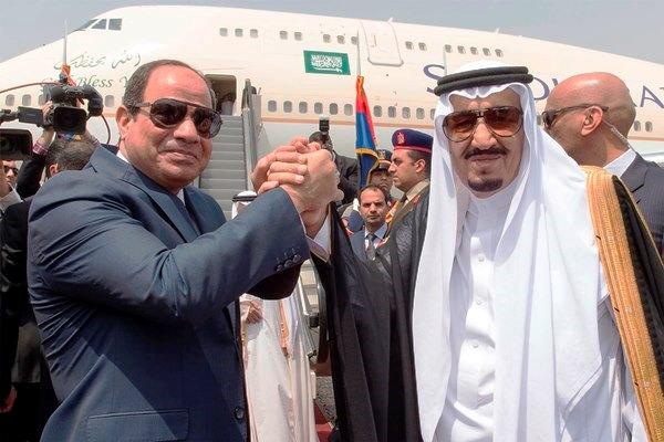 الملك سلمان والرئيس المصري  - أرشيفية