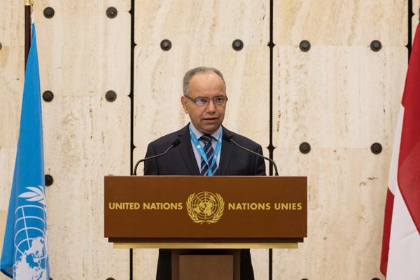 عبد العزيز المزيني مدير مكتب اتصال اليونيسكو في جنيف