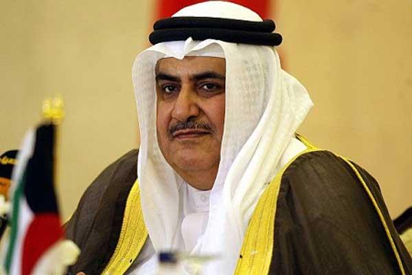 وزير خارجية البحرين خالد بن أحمد