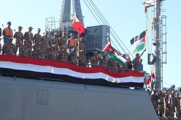 قوات أردنية ومصرية للمشاركة في التمرينات