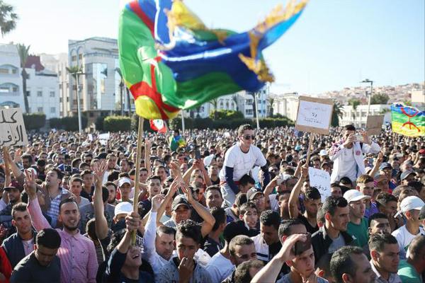 غالبية القراء تؤيد أسلوب معالجة السلطات المغربية لاحتجاجات الريف