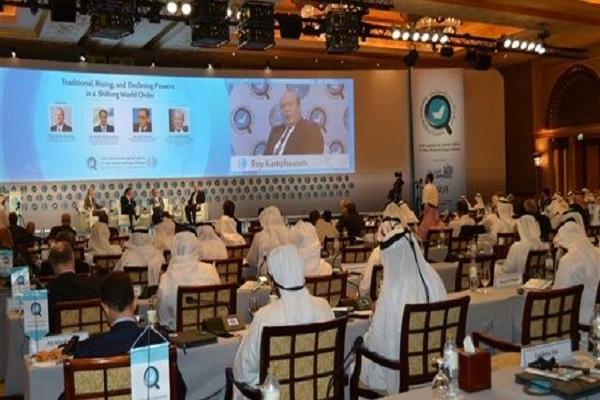جانب من فعاليات ملتقى ابو ظبي الاستراتيجي