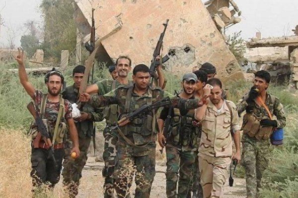 قوات الجيش السوري في البوكمال