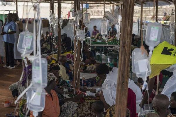 صورة لتفشي الكوليرا في تنزانيا عام 2015