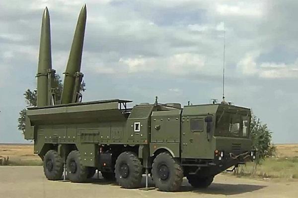 صواريخ اسكندر الروسية في الشرق الأوسط لأول مرة