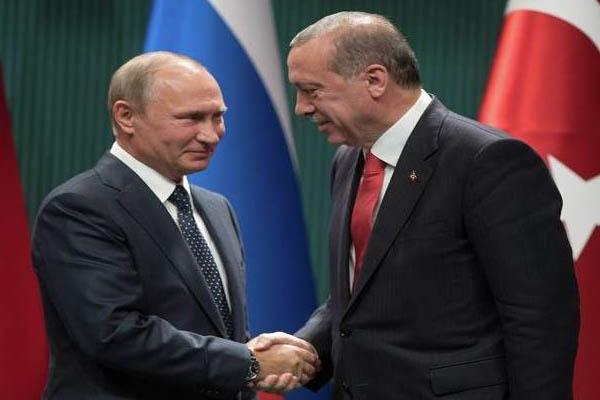 بوتين واردوغان في آخر قمة في سبتمبر