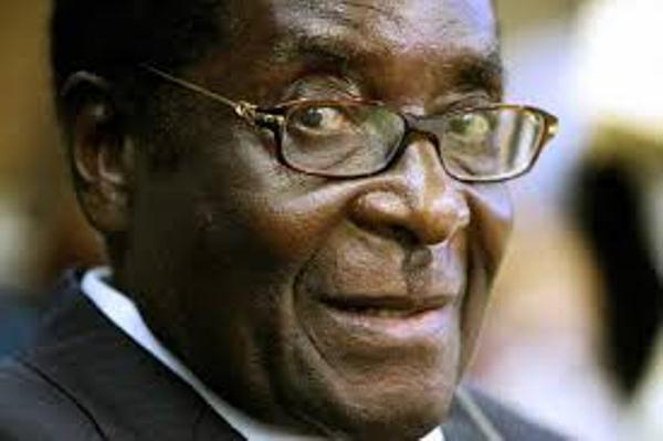 الرئيس الديكتاتور العجوز موغابي