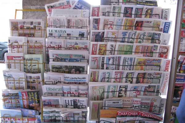 جولة في الصحافة المغربية الصادرة اليوم الثلاثاء