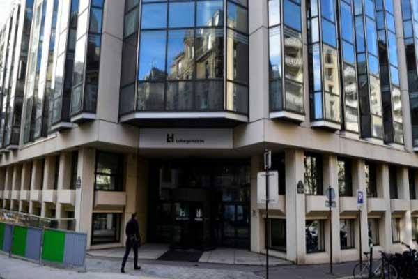 المقر الرئيس لشركة لافارج للأسمنت في باريس في 14 نوفمبر 2017