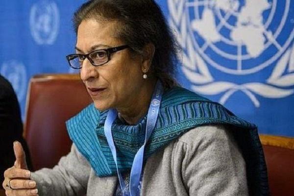 مقررة الأمم المتحدة لقضايا حقوق الإنسان في إيران عاصمة جهانغيري
