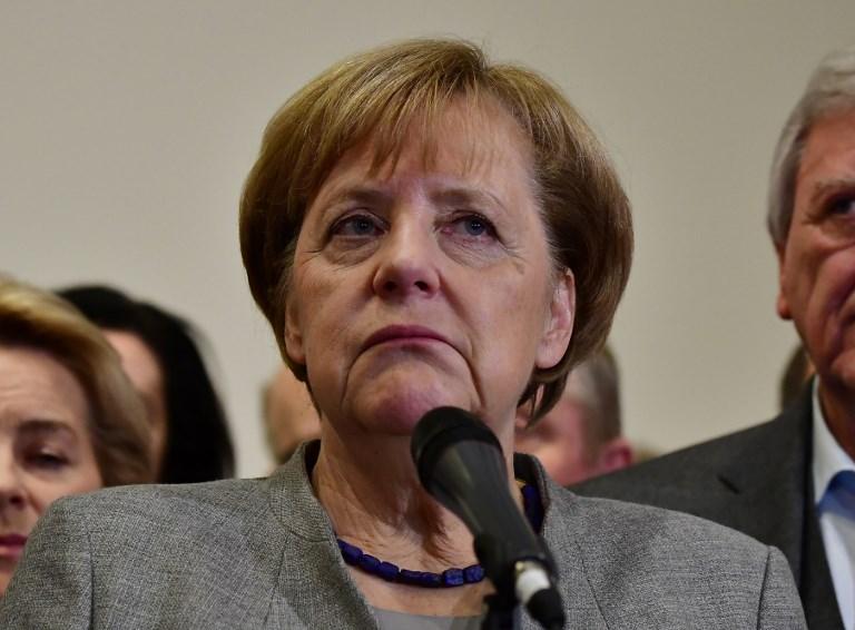 المستشارة الالمانية انغيلا ميركل