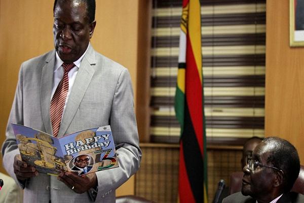 إيمرسون منانغاغوا الزعيم الجديد للحزب الحاكم في زيمبابوي