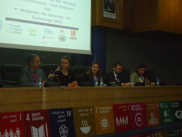 جانب من أعمال الدورة التاسعة للمؤتمر الدولي لقادة الألفية، تحت شعار