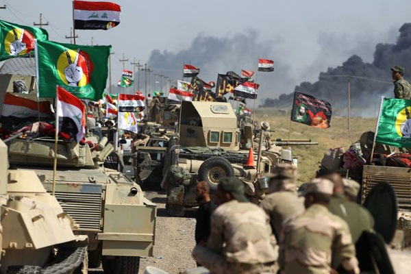 قوات عراقية في مواجهة داعش بغرب البلاد