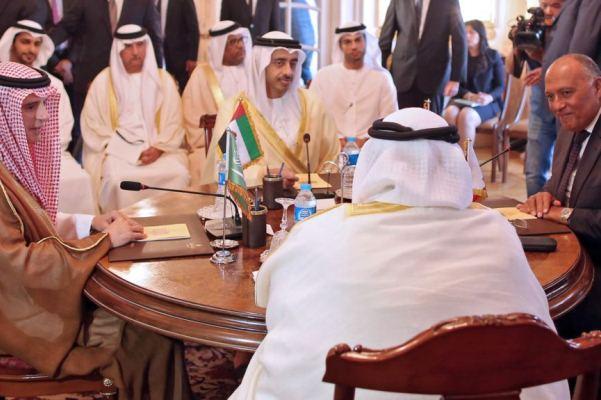 اجتماع سابق لوزراء خارجية الدول الأربع