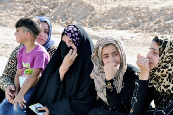 نازحات عراقيات