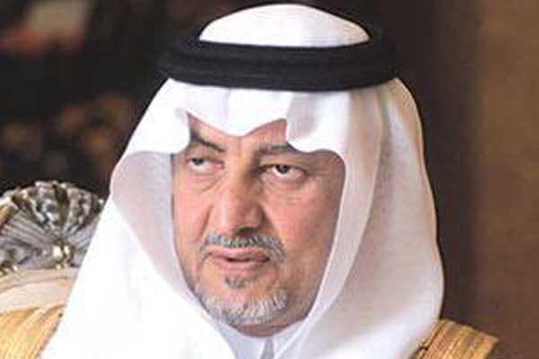 مستشار خادم الحرمين الشريفين خالد الفيصل