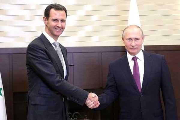 بوتين وبشار... التسوية والانتقال السياسي