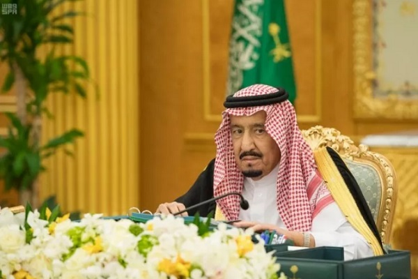العاهل السعودي الملك سلمان بن عبد العزيز يترأس جلسة مجلس الوزراء