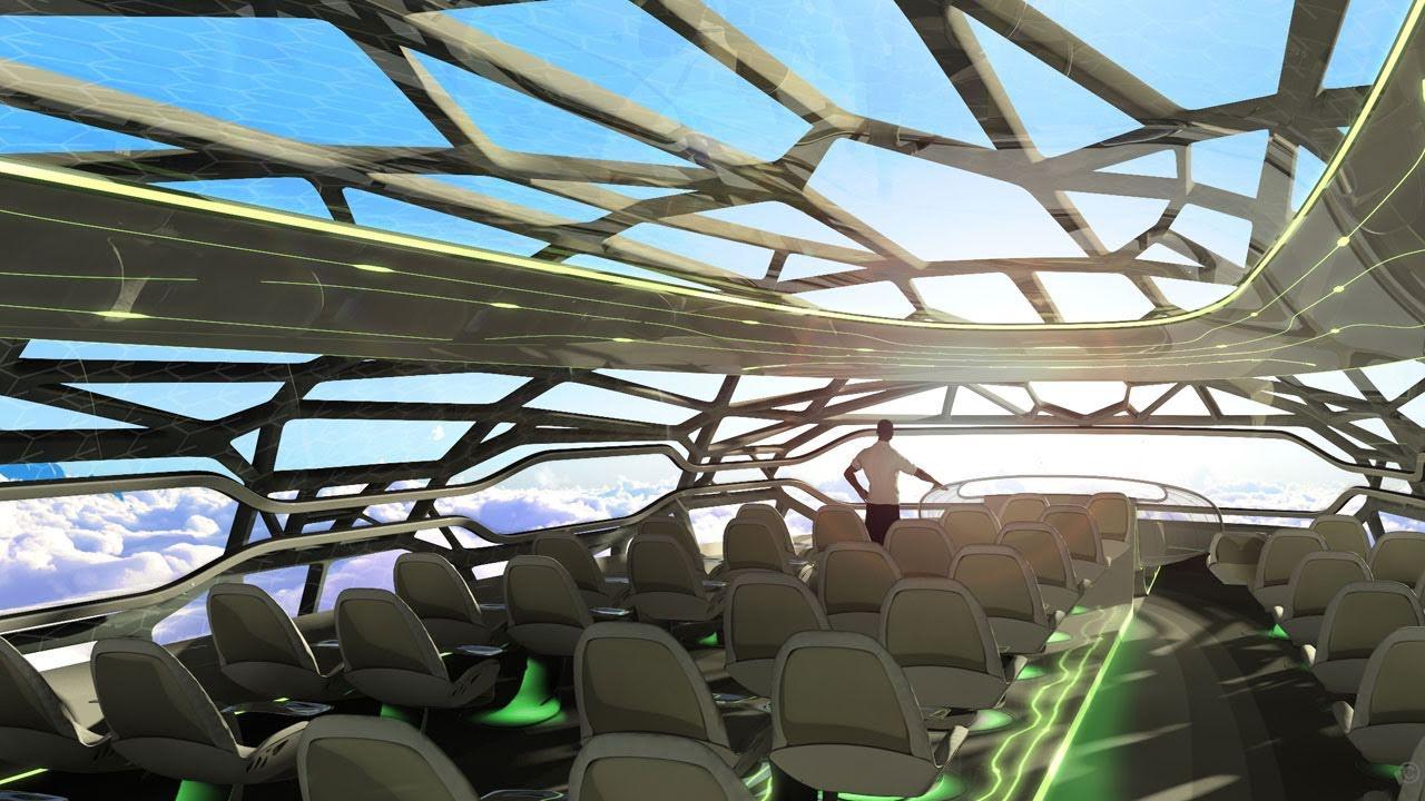 شكل طائرات المستقبل سيكون مستوحى من الطبيعة