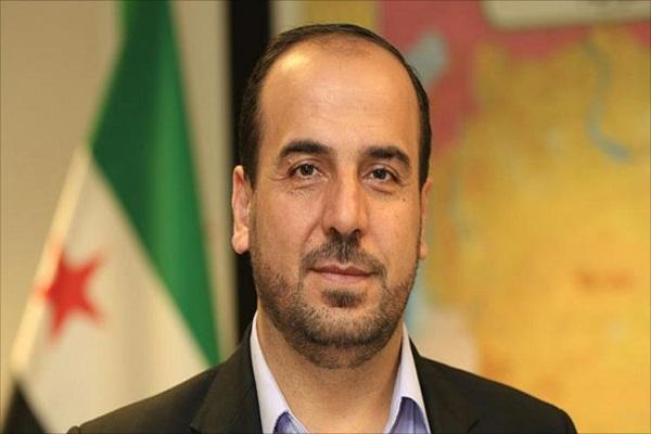رئيس الهيئة العليا للمفاوضات نصر الحريري