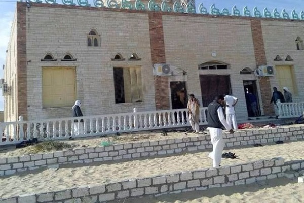 الارهابيون قتلوا 235 شخصا في مسجد الروضة