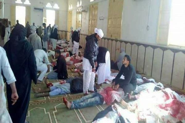 الضحايا مسجد الروضة بالعريش