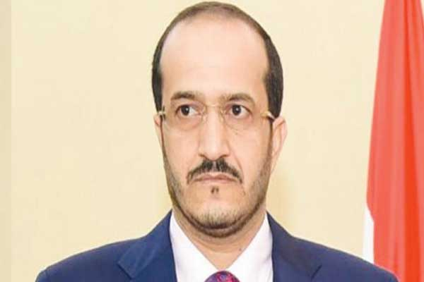 وزير الدولة اليمني عثمان مجلي