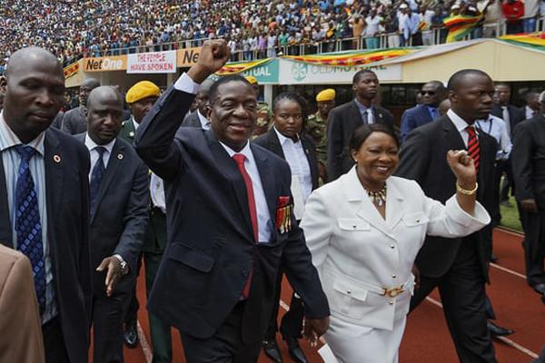 رئيس زيمبابوي الجديد أدى اليمين الدستورية