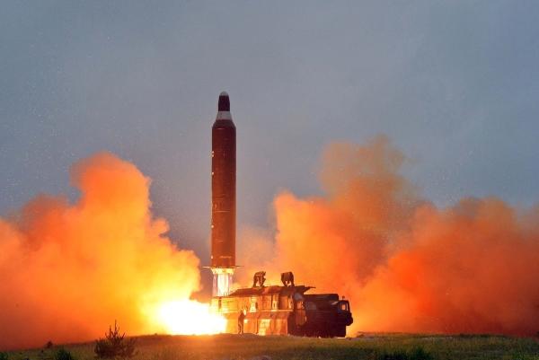 الصاروخ انطلق شرقا من مقاطعة بيونغان الجنوبية